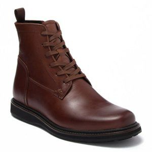 John Varvatos Star USA Star Leather Lace-Up Boot